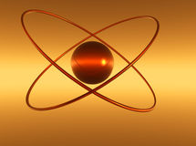 атом cit Стоковые Фотографии RF