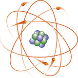 атом x Стоковые Фото