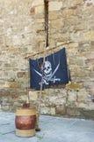 Атрибуты пирата Стоковая Фотография