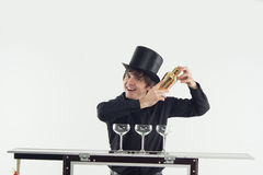 Атрибуты хорошего бармена Стоковое фото RF