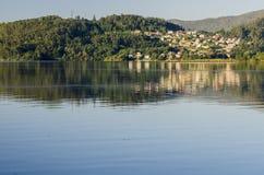 датские озера острова landscape вода wadden моря природы малая приливная одичалая стоковое изображение