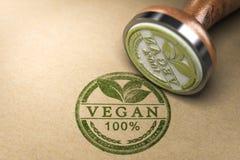 Аттестованная еда Vegan Стоковая Фотография RF