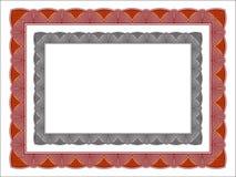 Аттестуйте рамку, современный, minimalis и элегантное, цвет и серая шкала бесплатная иллюстрация