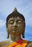латунная крыша головки края Будды сделанная японией вне сползает Стоковое фото RF