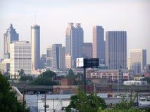 Атланта от короля Мемориальн Станции Стоковое Изображение RF