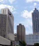Атланта Marriot и солнечные часы Стоковая Фотография RF