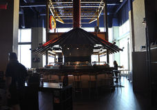 Атлантик-Сити, 4-ое августа: Современный интерьер мола от курорта Атлантик-Сити в Нью-Джерси Стоковое фото RF
