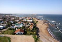 Атлантическая береговая линия, Ла Paloma, Уругвай стоковые изображения