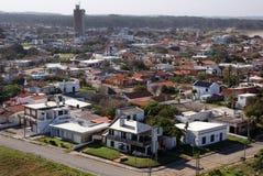 Атлантическая береговая линия, Ла Paloma, Уругвай стоковая фотография rf