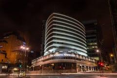 Атлантическая гостиница башни к ноча Стоковые Фото