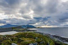 атлантическая дорога стоковое фото rf