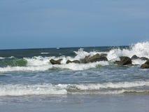 Атлантический прибой стоковое изображение rf