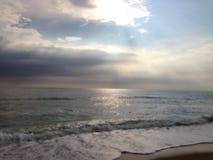 атлантический пляж Стоковая Фотография