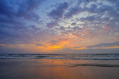 атлантический пляж Стоковые Фотографии RF