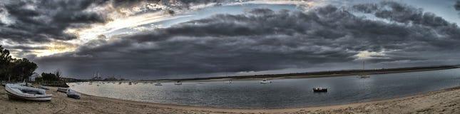 атлантический шторм Стоковое фото RF