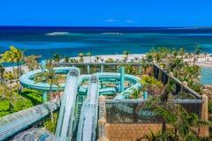 Атлантида Багамы Стоковое фото RF