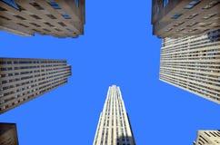 атлас разбивочный manhattan новое Рокефеллер york Стоковая Фотография