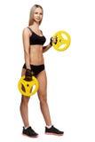 атлетическая женщина Стоковая Фотография RF