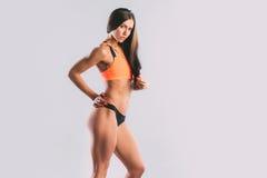 атлетическая женщина Стоковые Изображения