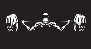 атлетические люди иллюстрация вектора