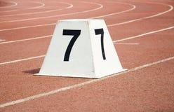 атлетический след Стоковые Изображения RF