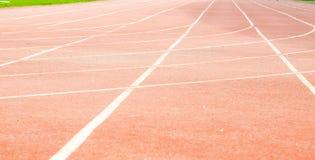 атлетический след Стоковое Фото
