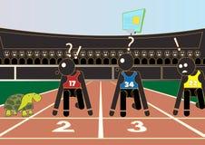 атлетических Стоковое Изображение RF