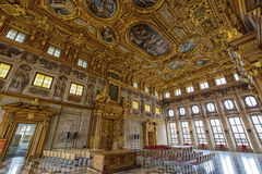 Аугсбург золотой Hall стоковое изображение rf