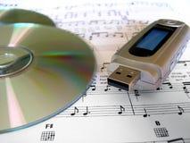 аудиоплейер ipod mp3 Стоковое Изображение RF