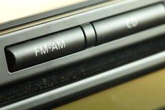 аудиосистема автомобиля Стоковые Изображения