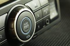 аудиосистема автомобиля Стоковая Фотография RF