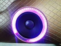 аудиосистема автомобиля Стоковое фото RF