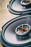 Аудио автомобиля с дикторами Стоковая Фотография