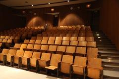 Аудитория школы пустая Стоковая Фотография