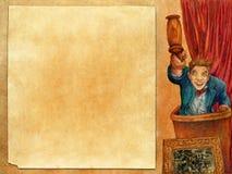аукцион 2 искусств иллюстрация вектора