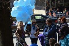 Аутизм дней 2-ое апреля Стоковая Фотография