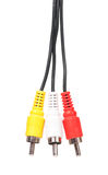 Аудио-визуальное cablein Стоковые Фотографии RF