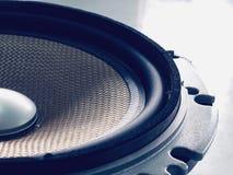 Аудио диктора автомобиля стоковая фотография