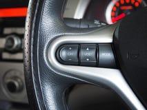 Аудио рулевого колеса и дистанционного управления стоковая фотография rf