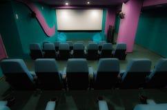 Аудитория в кино Стоковая Фотография RF