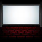 Аудитория кино Стоковое Изображение
