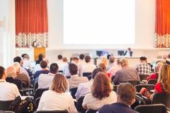 Аудитория на конференц-зале Стоковое Фото