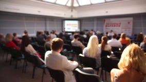 Аудитория на конференц-зале акции видеоматериалы