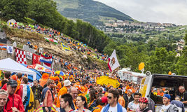 Аудитория Le Тур-де-Франс Стоковое Изображение