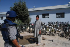 афганское село Стоковое фото RF