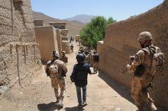 афганское село Стоковые Фотографии RF