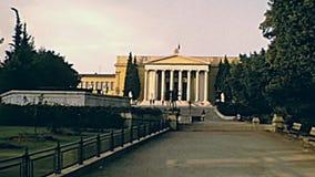 Афина греческое Zappeion сток-видео