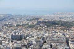 Афиныы - столица Греции Стоковое Изображение RF