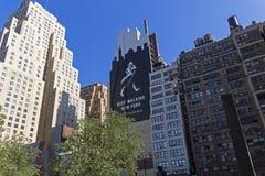 Афиша вискиа ходока Джонни на стене Стоковое Изображение