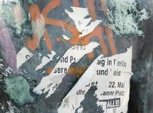 афиша затрапезная стоковое изображение rf
